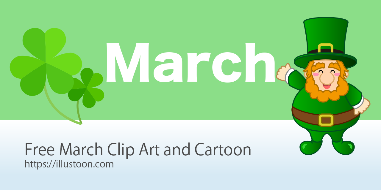 Free March Clip Art Images