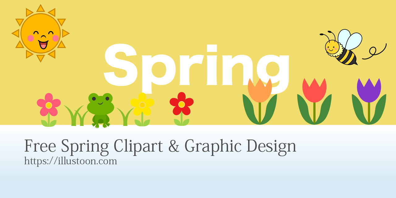 Free Spring Clipart & Graphic Design
