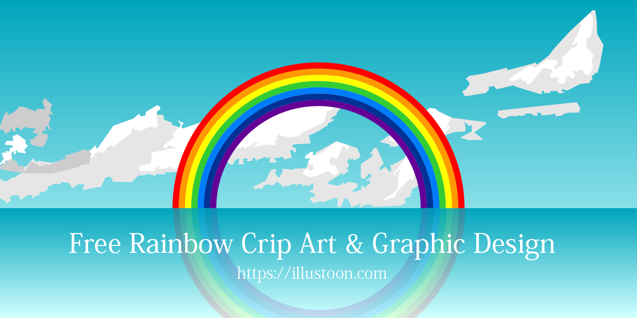 Free Rainbow Clip Art & Graphic Design
