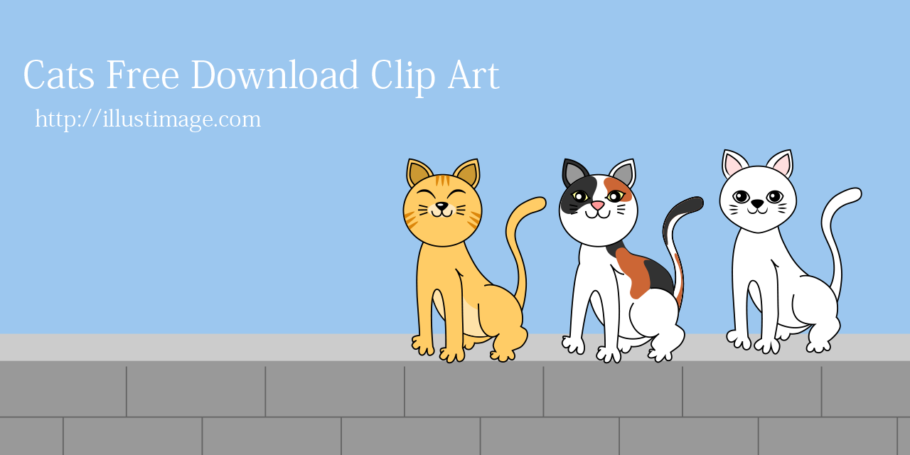 Cat Free Clipart & Cartoon Pictures