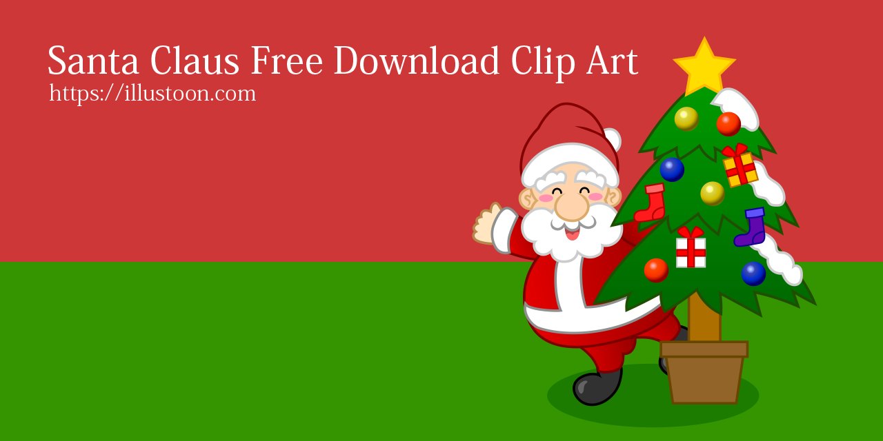 Free Santa Claus Clip Art & Cartoon Pictures