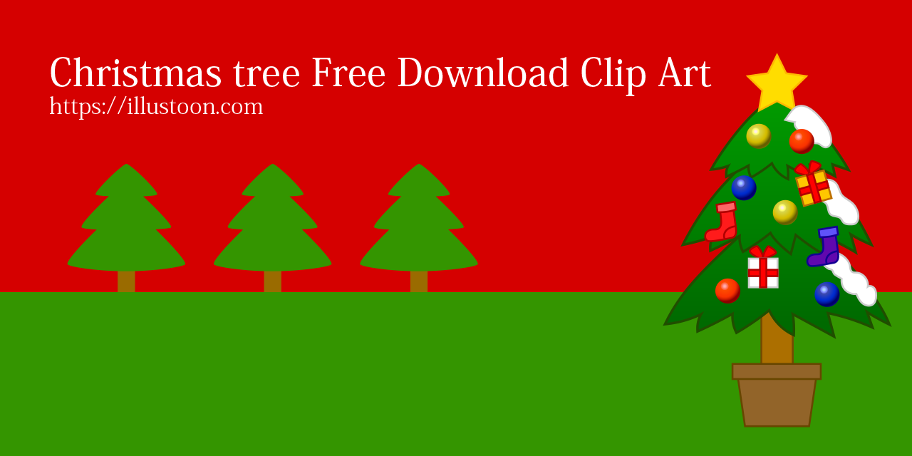 Free Christmas Tree Clip Art & Graphic Design