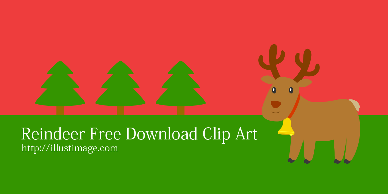 Free Reindeer Clip Art & Cartoon Pictures