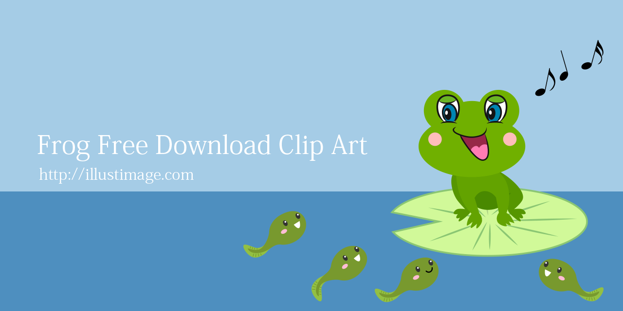 Free Frog Clip Art & Cartoon Pictures