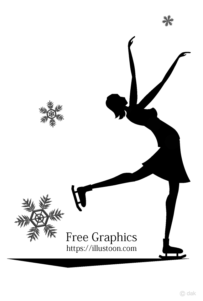 Figure Skating Women Graphics Card