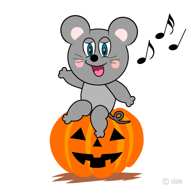 Halloween Mouse Cartoon