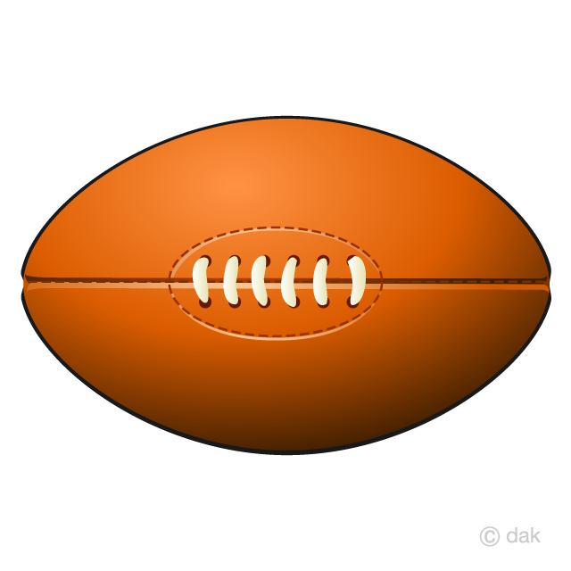 Rugby Ball Clipart Free Png Image Illustoon