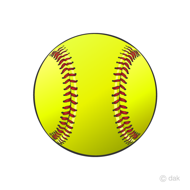 Softball cool. Ball clipart free picture