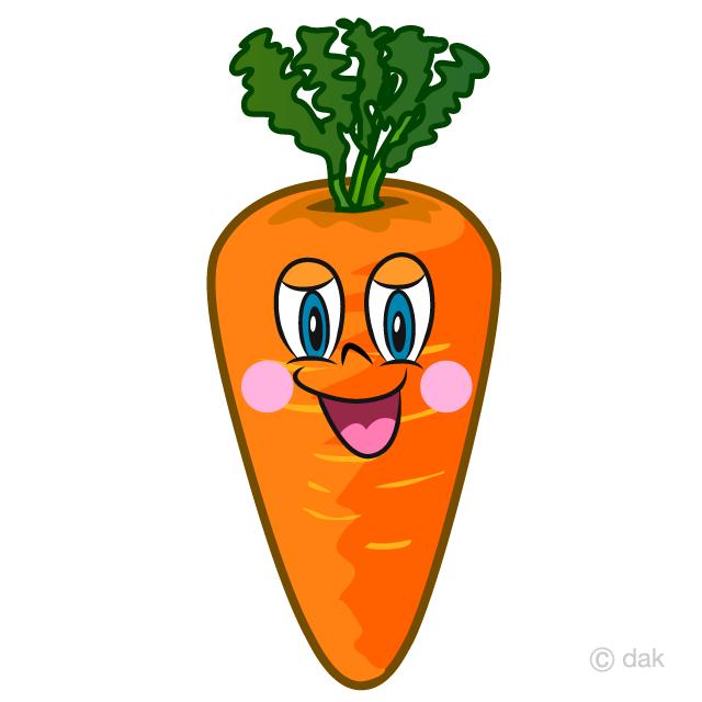 Carrot Cartoon Free Picture Illustoon
