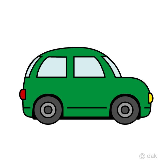 Car green. Cute wagon clipart free