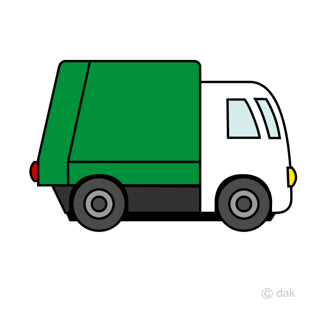Cute Garbage Truck Clipart