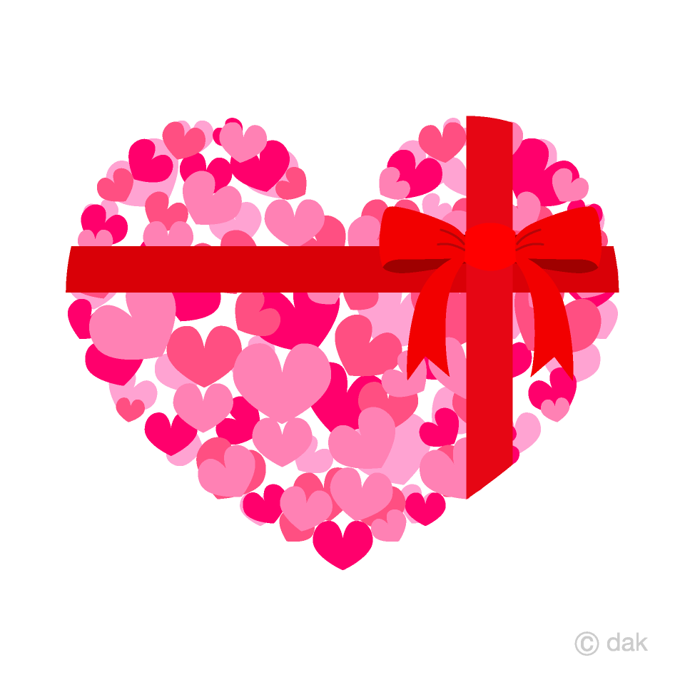 Ribbon Tied Heart Clipart