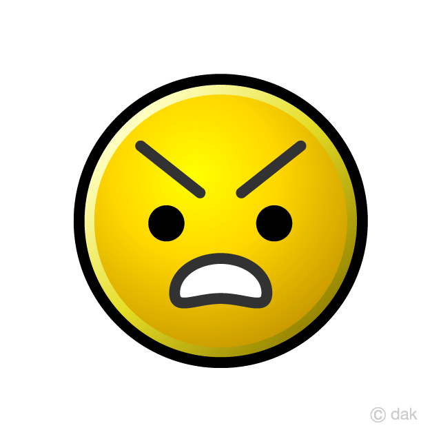 Emoji angry. Clipart free picture illustoon