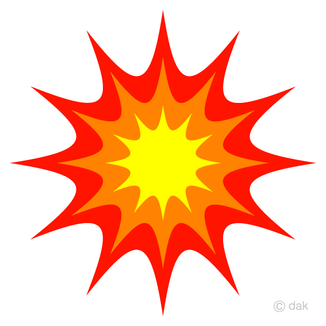 Simple Explosion Clipart