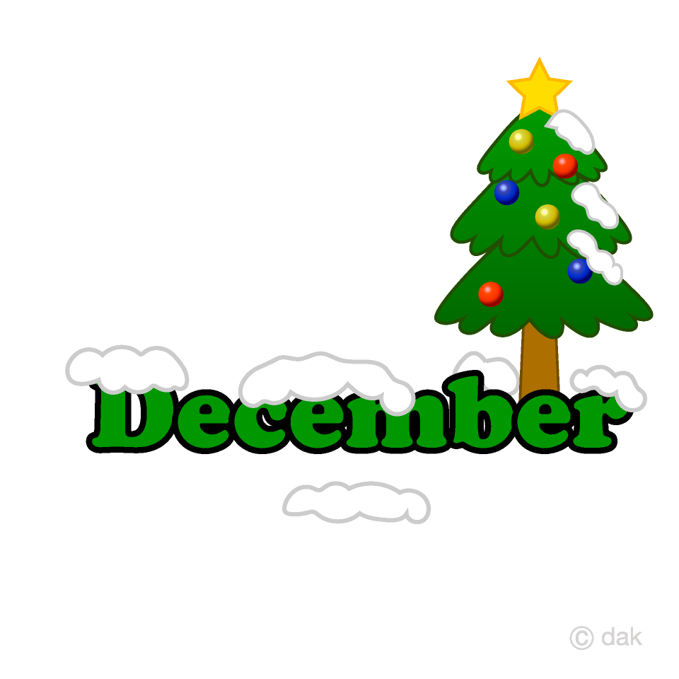 Christmas Tree December Clipart