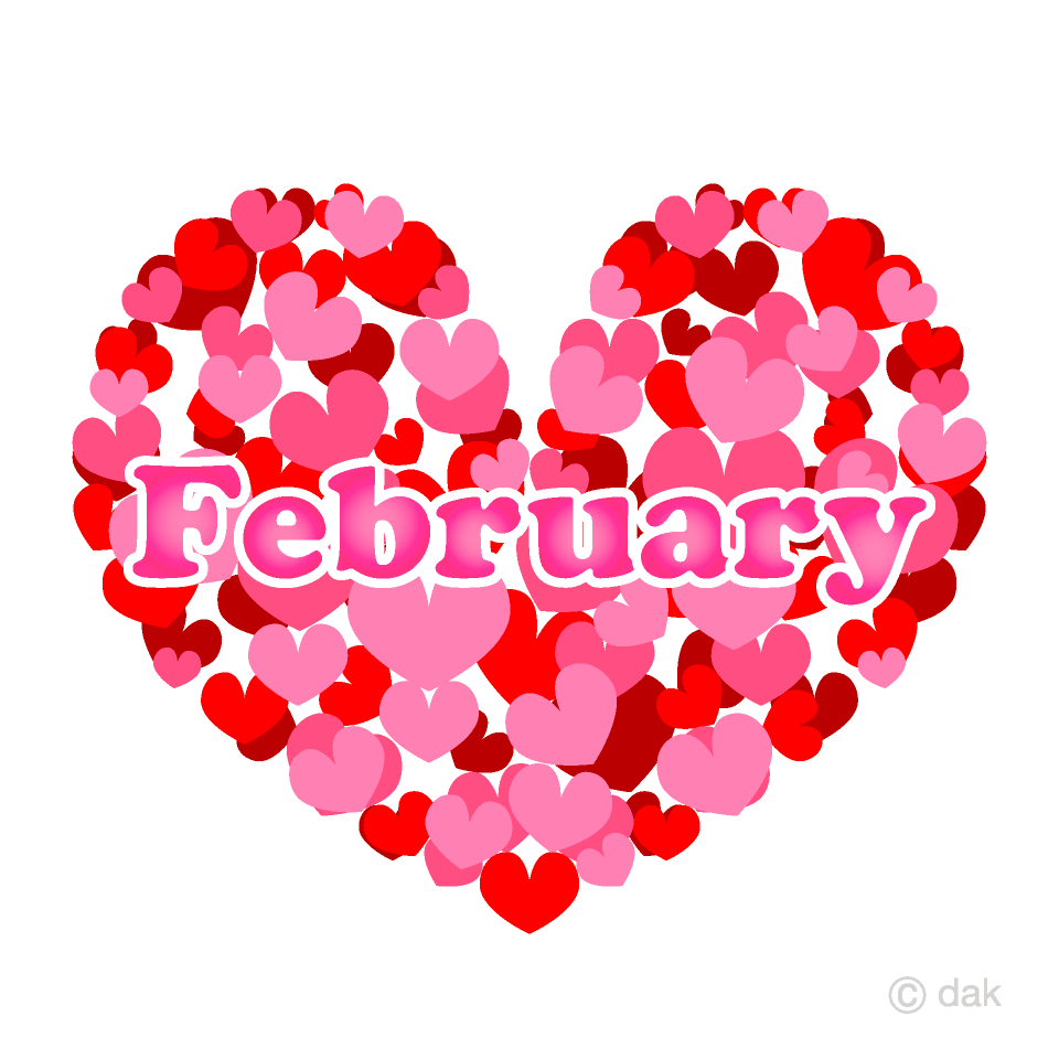 Heart February Clipart