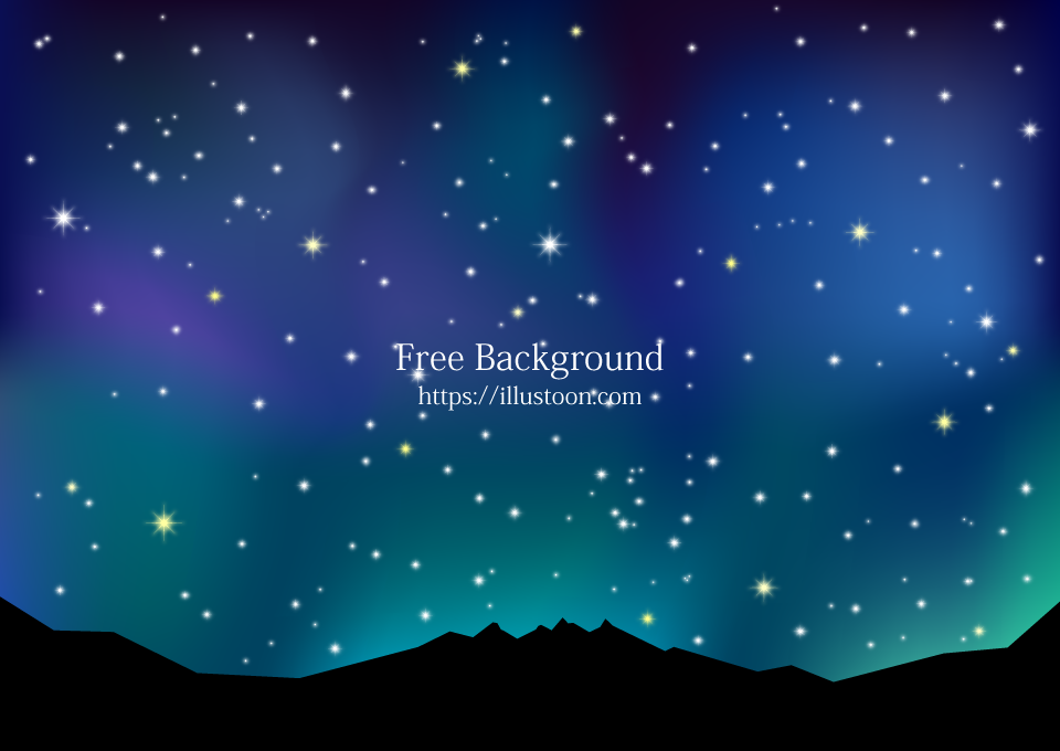 Mountains Night Sky Background