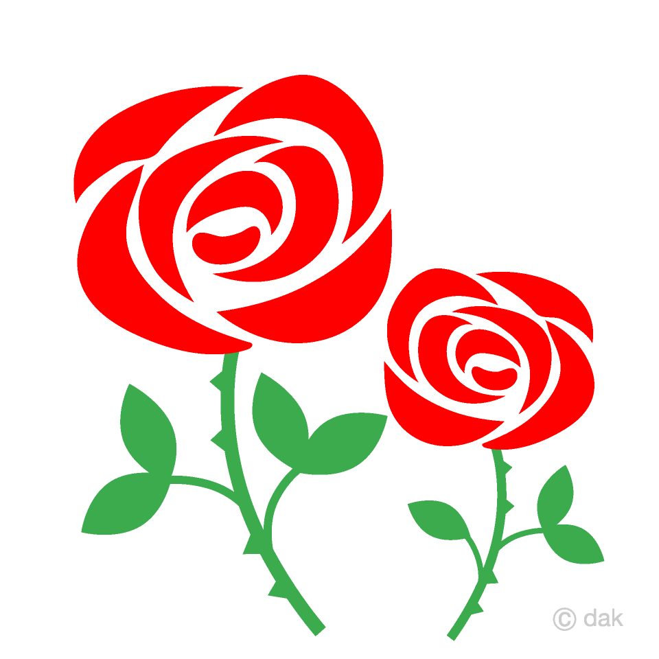 Two Cute Red Roses