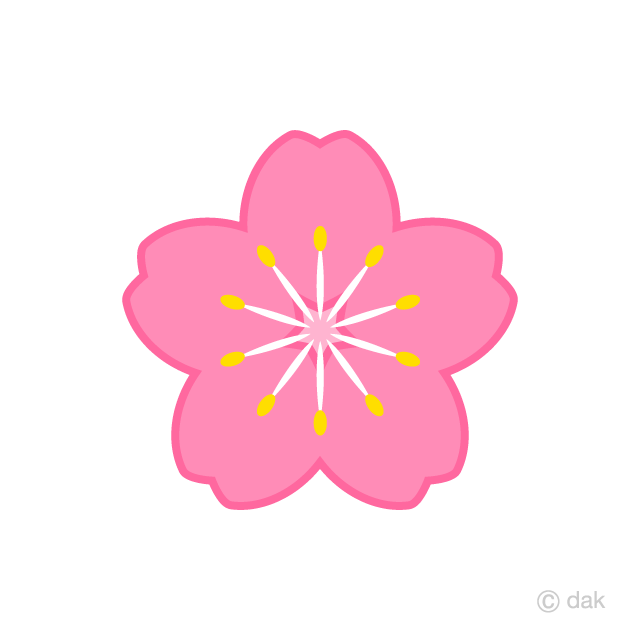 Plum Flower Clipart