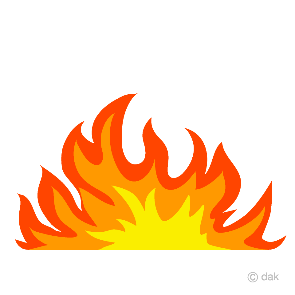 Wide Flame Clipart
