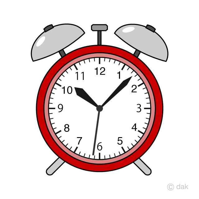 Red Alarm Clock Clip Art Free Png Image Illustoon