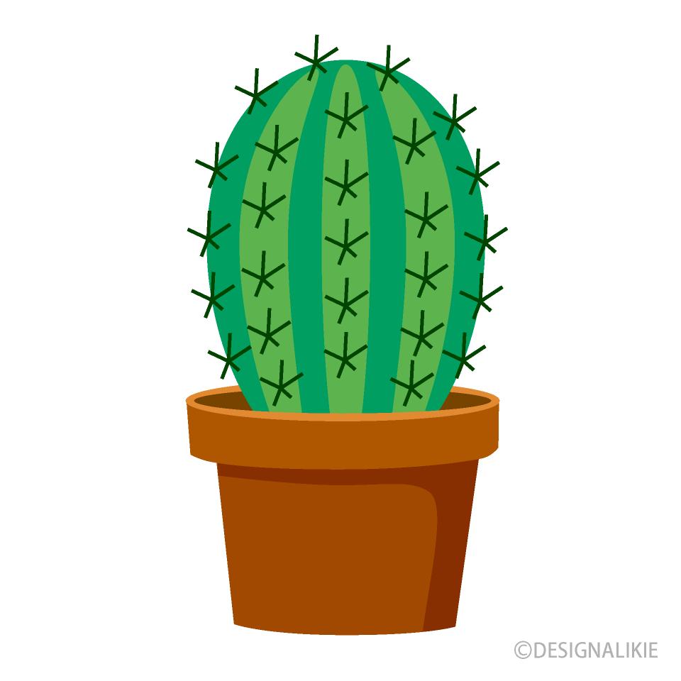 Cactus simple. Clipart free picture illustoon