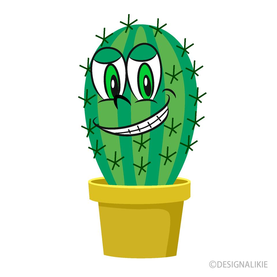 Cactus Cartoon Free Picture|Illustoon
