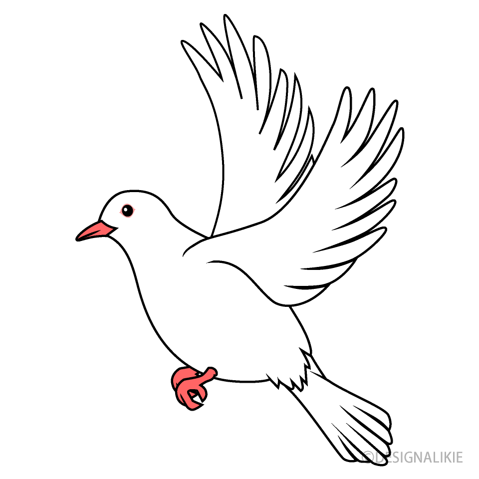 Flying Dove Clipart