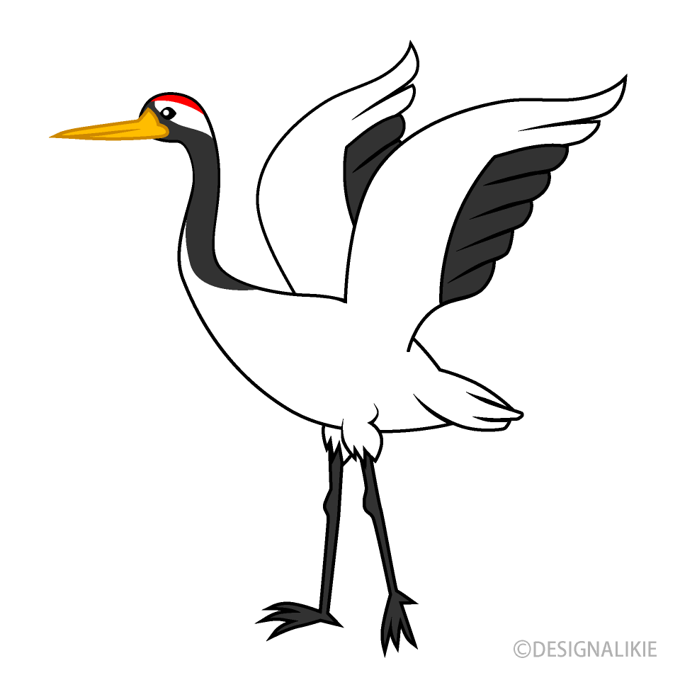Crane Clipart Free PNG Image|Illustoon