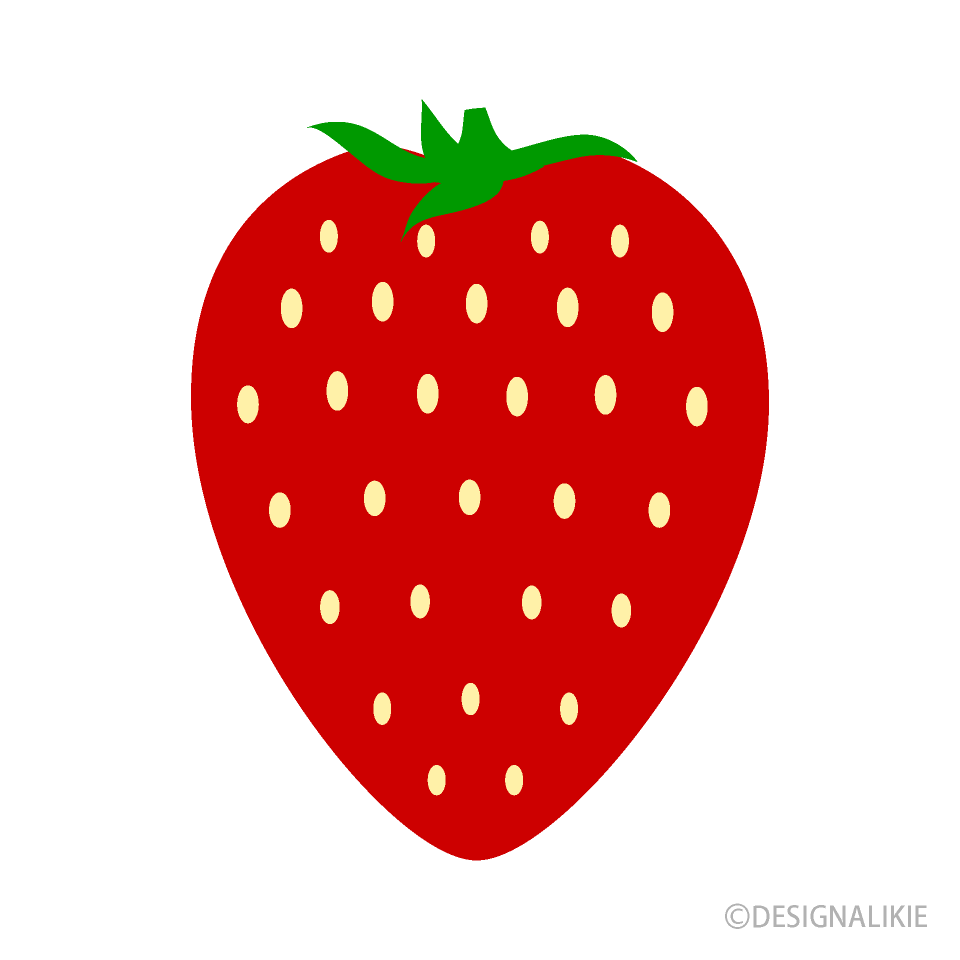Simple Strawberry Clipart