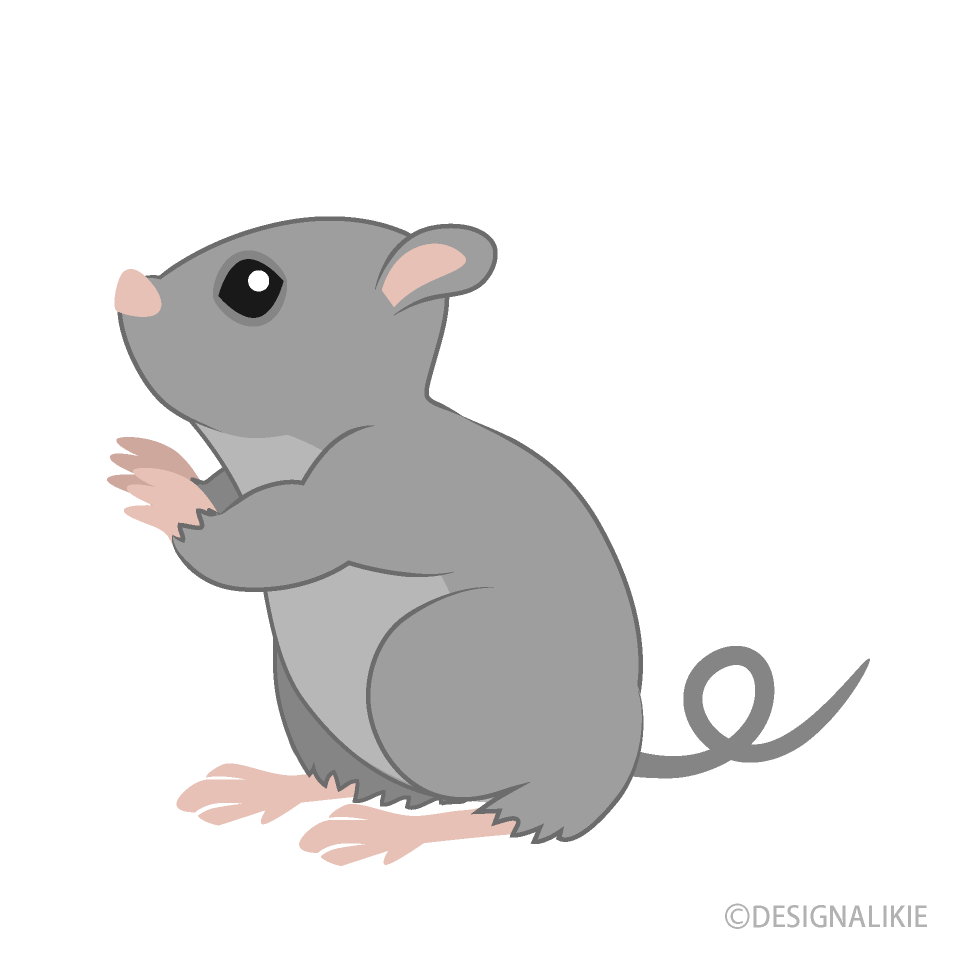 Looking up Mouse Clipart