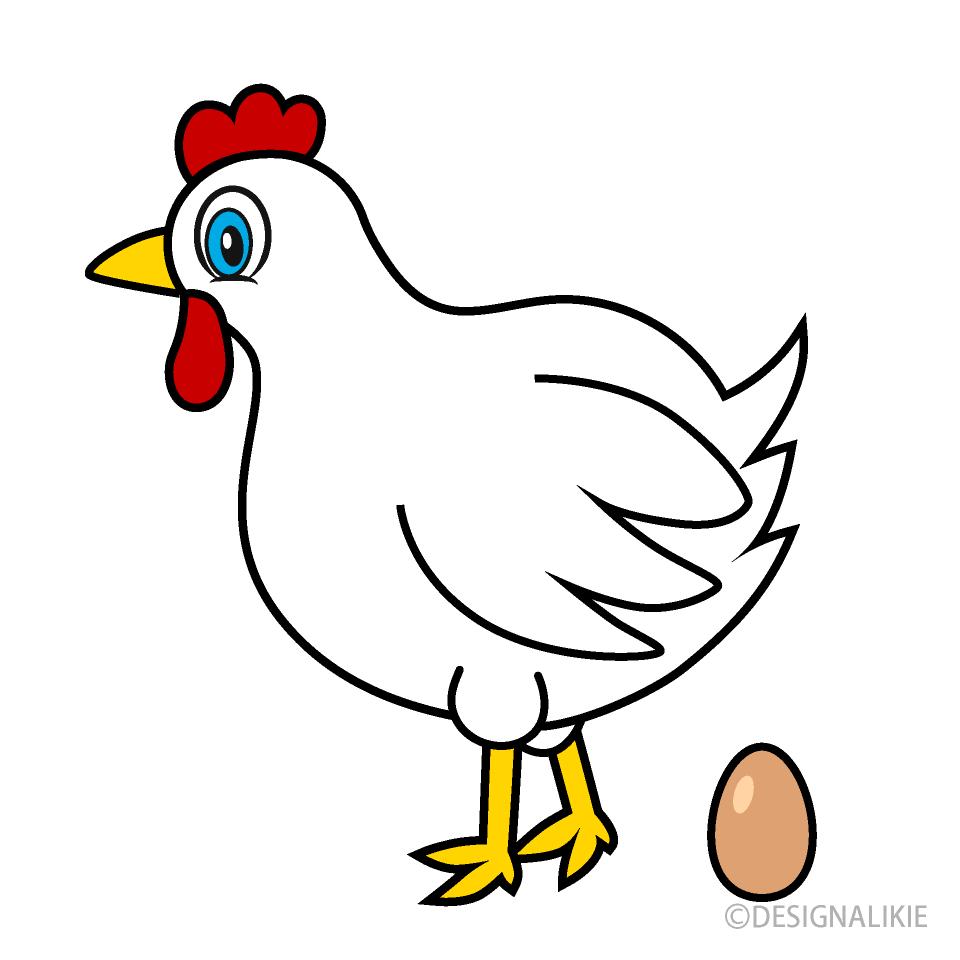 Huevo De Gallina Gratis Dibujos Animados Imágeneillustoon Es