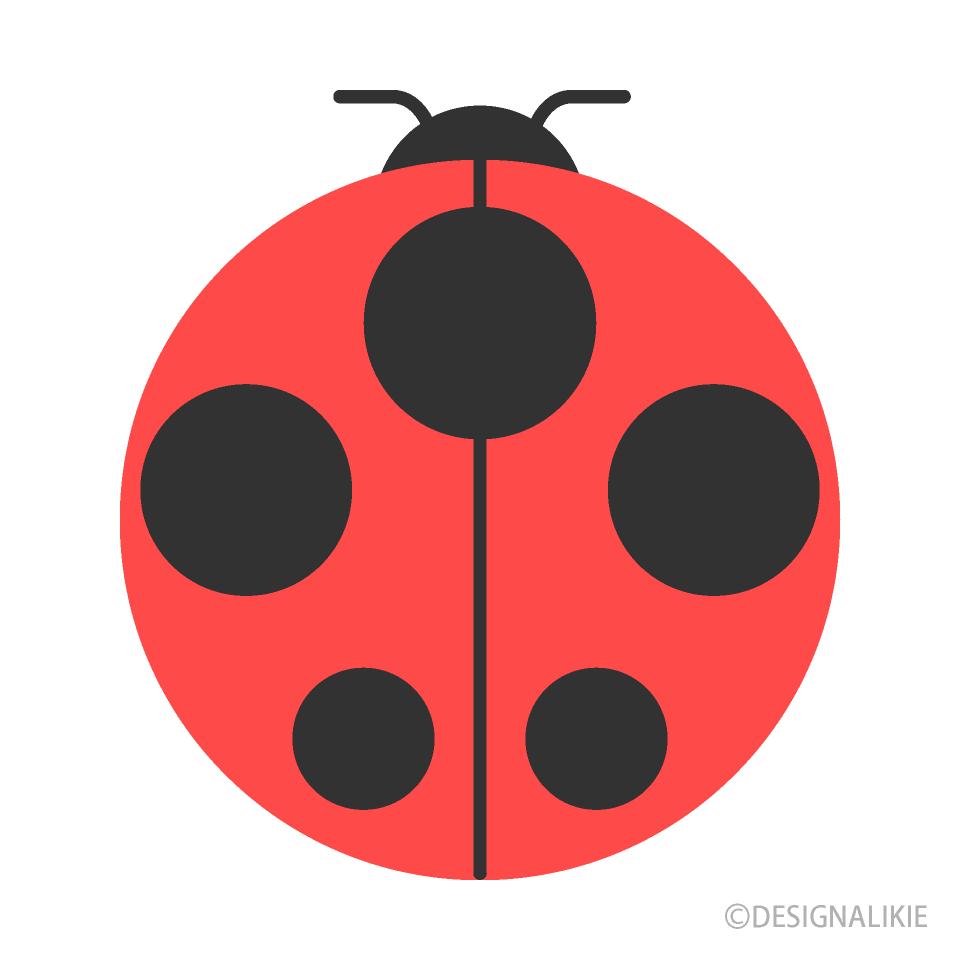 - Flat Ladybug Clipart Free PNG Image Illustoon