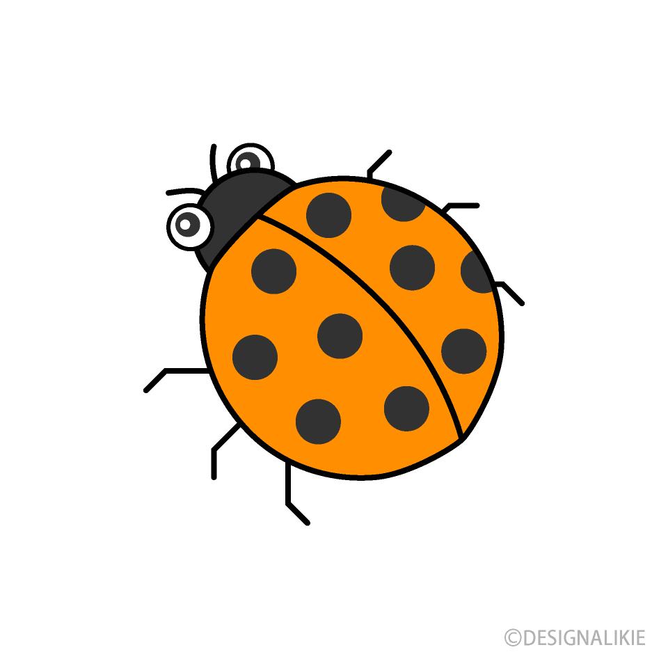 - Orange Ladybug Clipart Free PNG Image Illustoon