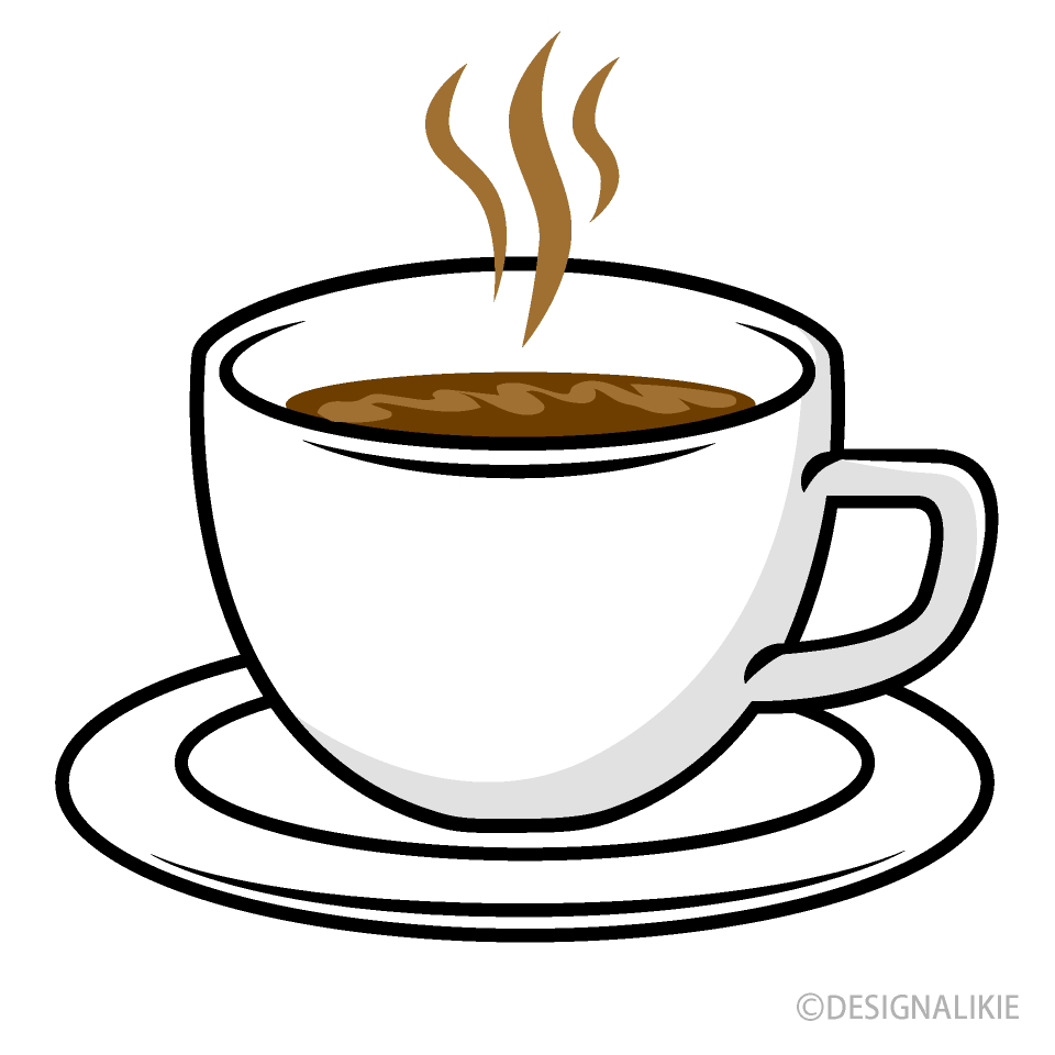 Hot Coffee Cup Clipart Free PNG Image|Illustoon
