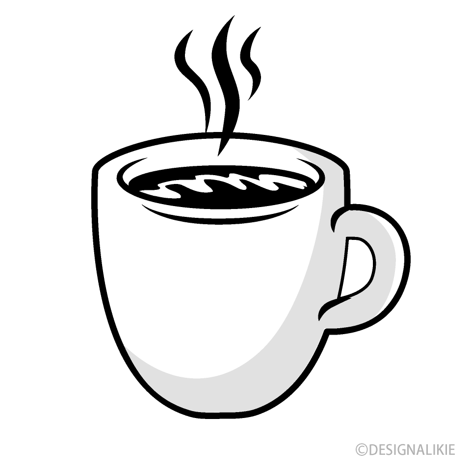 coffee mug black and white clipart free png image illustoon coffee mug black and white clipart free