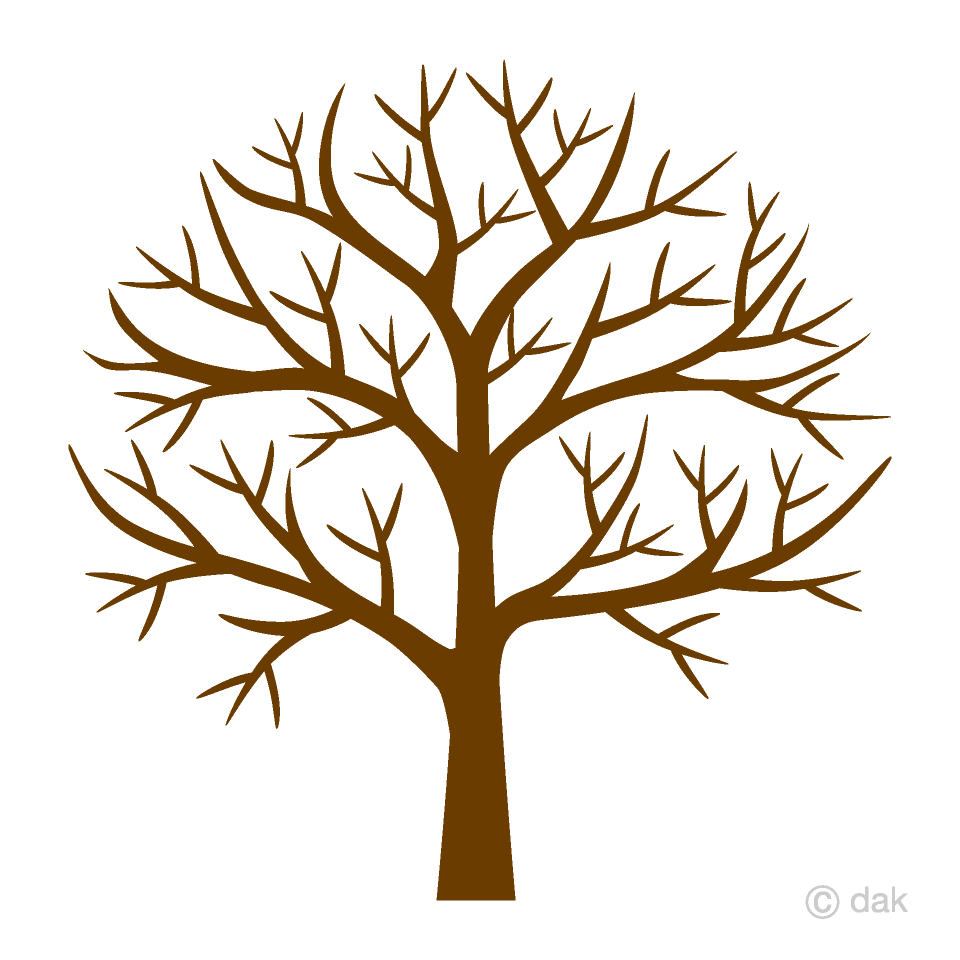 Leafless Tree Clipart