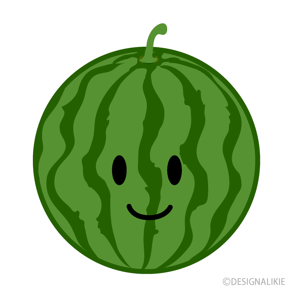 Cute Watermelon Clipart Free Png Image Illustoon