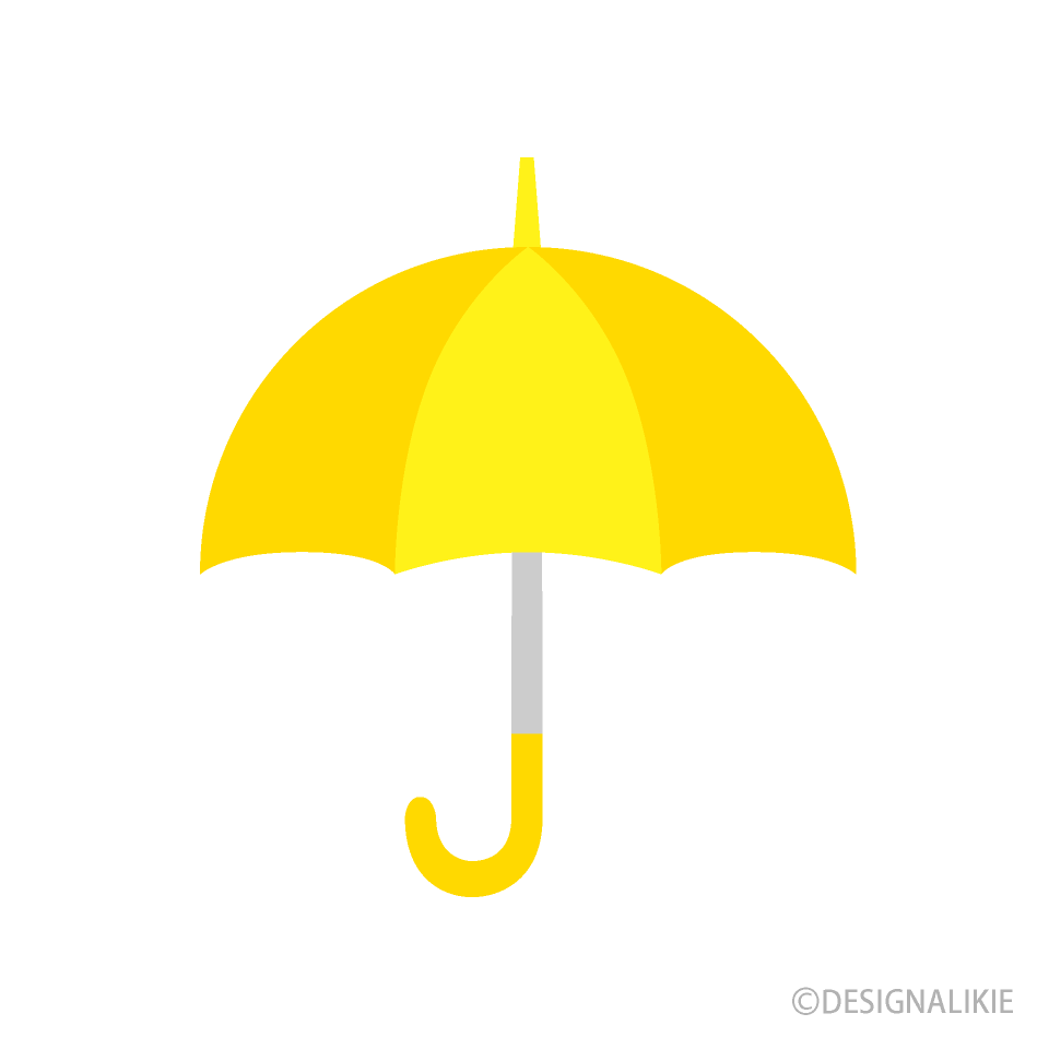 Yellow Umbrella Clipart