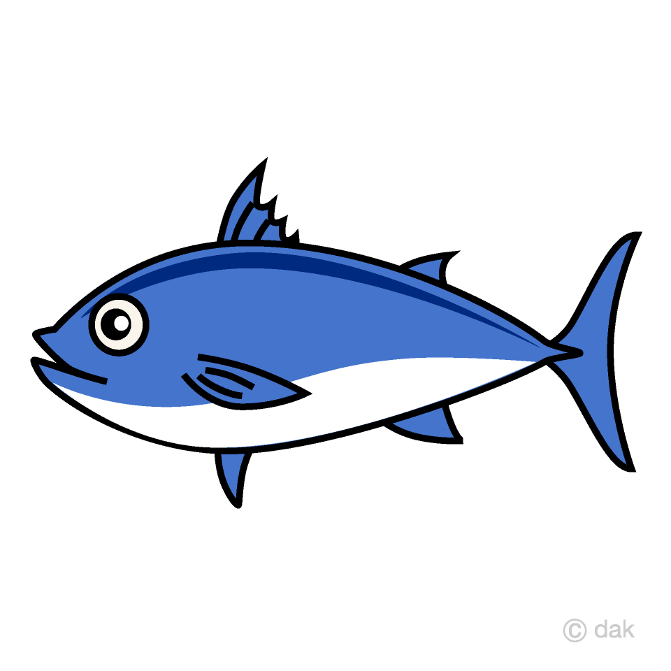 Fish tuna. Clipart free picture illustoon