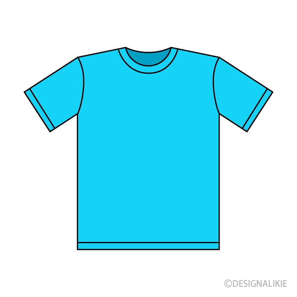 teal shirt clipart