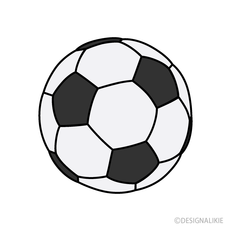 Black And White Soccer Ball Clipart Free Png Image Illustoon