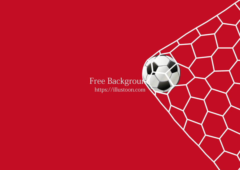 Soccer Goal Red Wallpaper