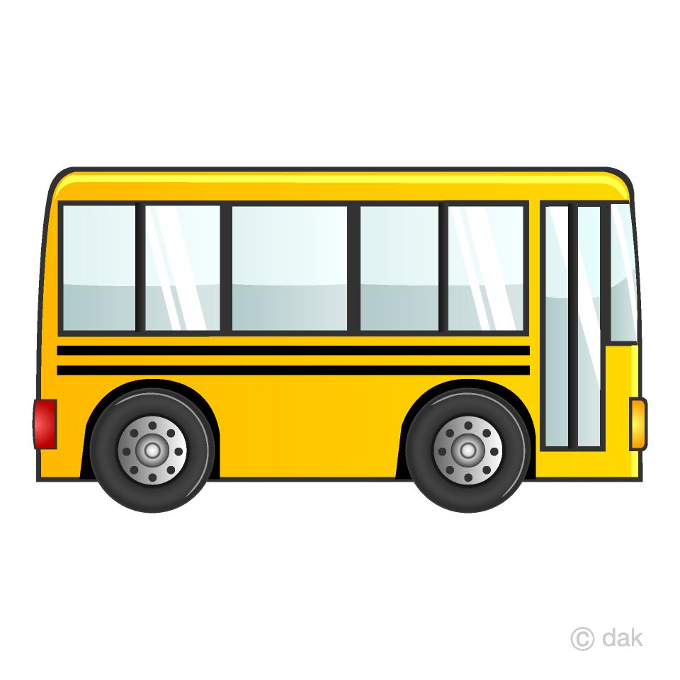 School bus simple. Clipart free picture illustoon
