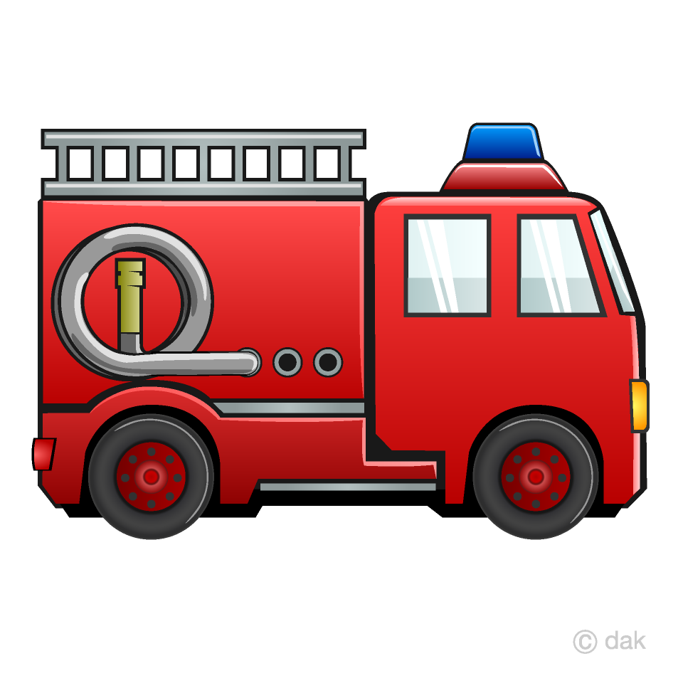 Fire Engine Clipart Free Picture Illustoon