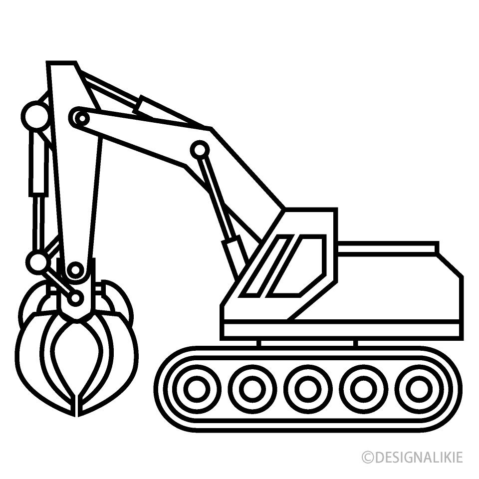 Crane Clip Art Black and White
