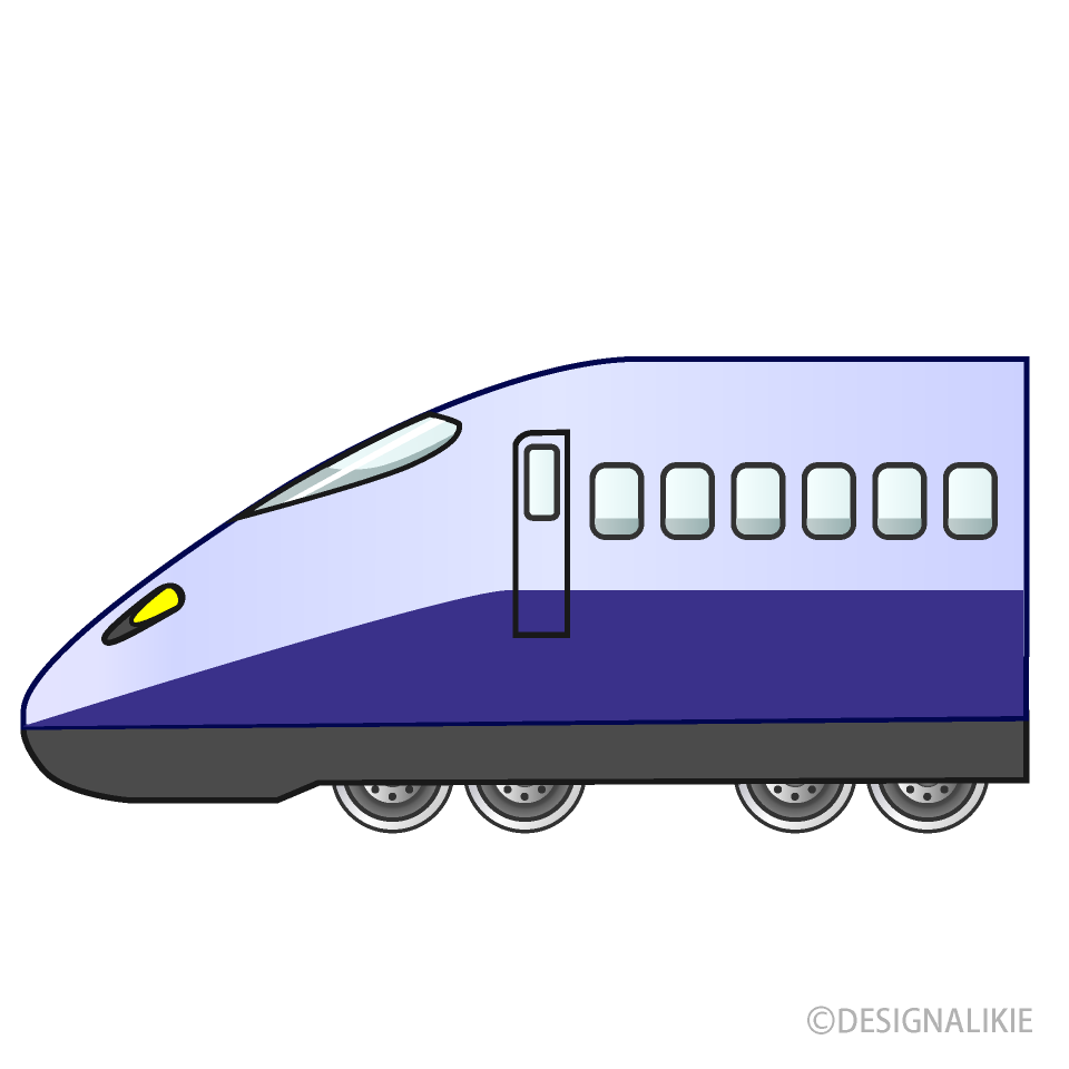 Limited Express Train Clipart