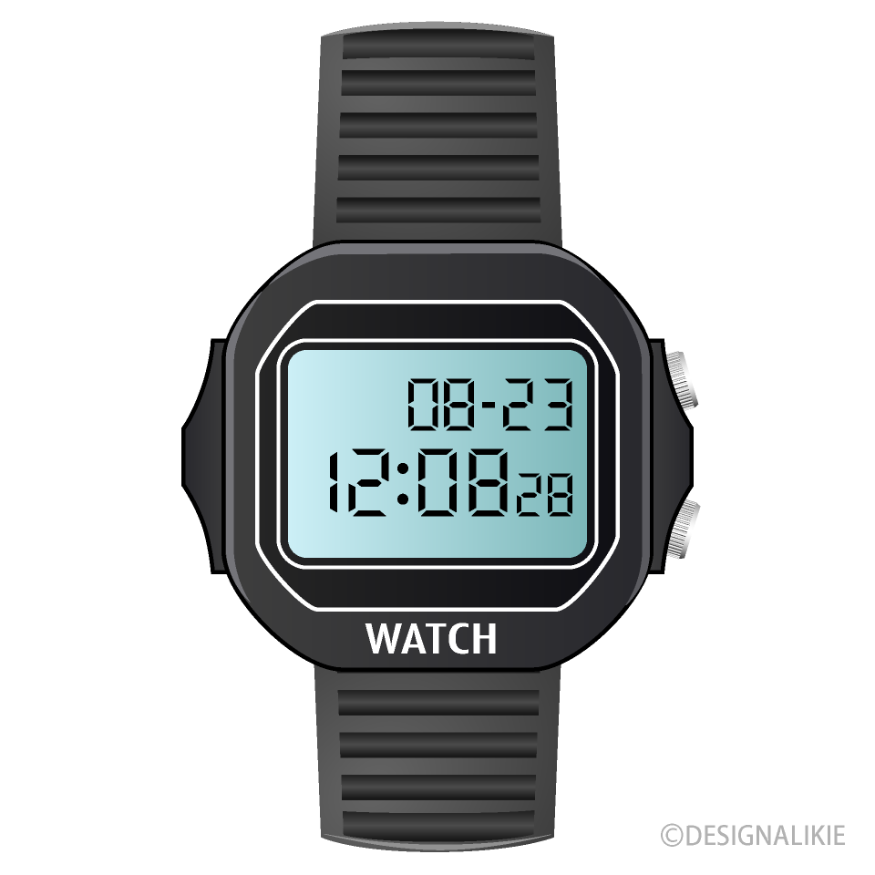 Digital Watch Clipart