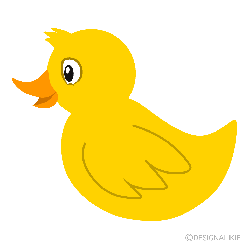 Yellow Duck Clipart