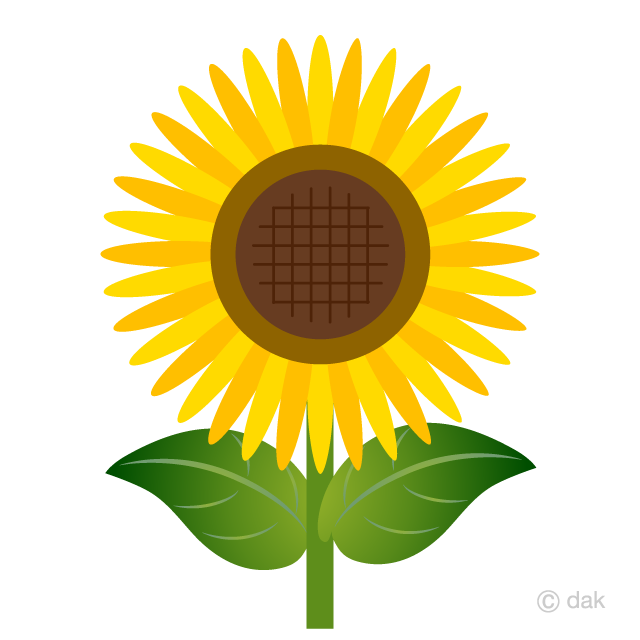 Sunflower designed Simply Clipart
